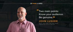 john lusher interview