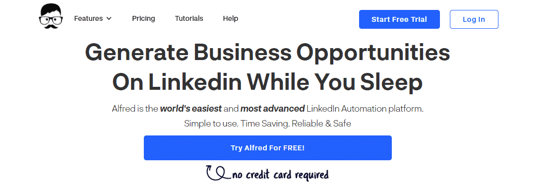 linkedin automation tools - Alfred