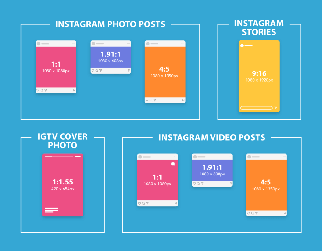 Instagram photo Sizes