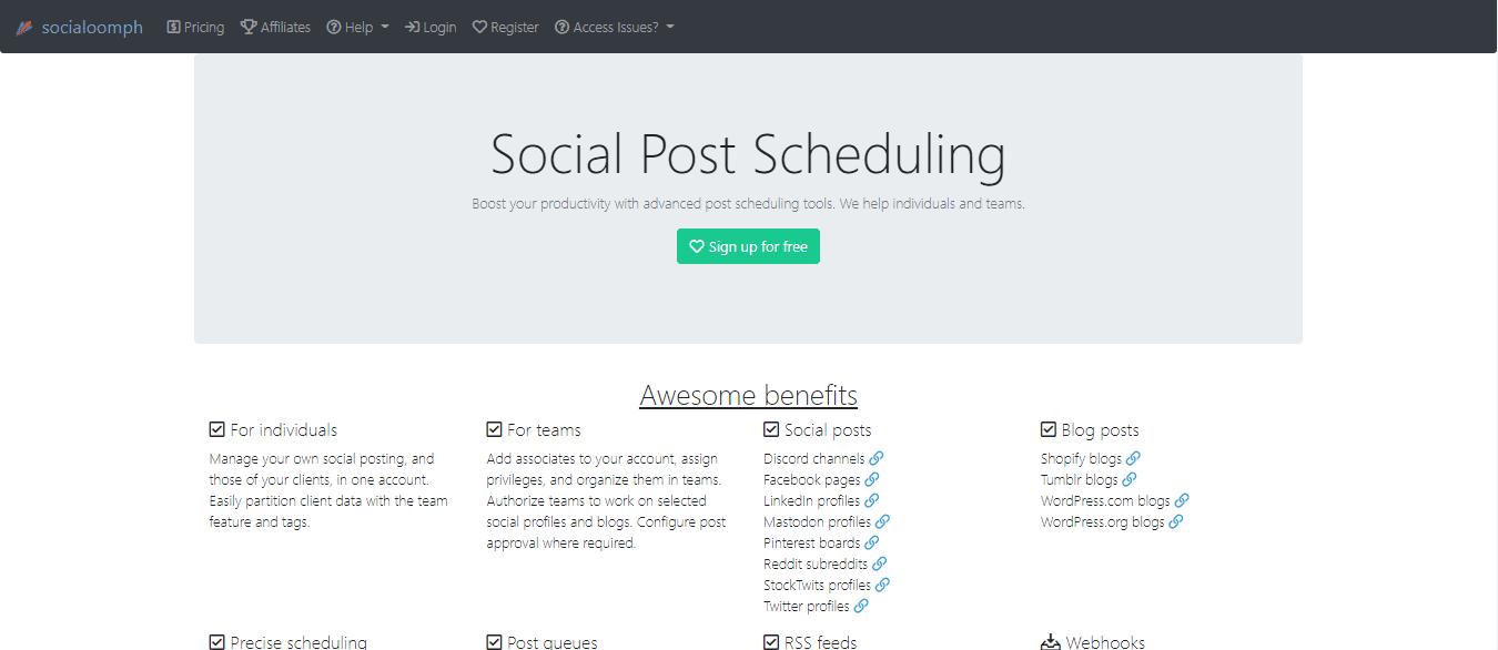 SocialOomph