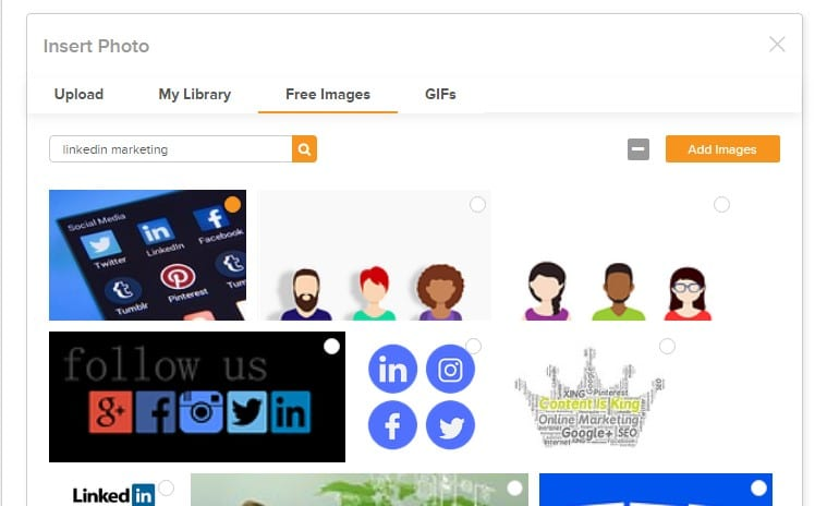 Showing social champ free image section