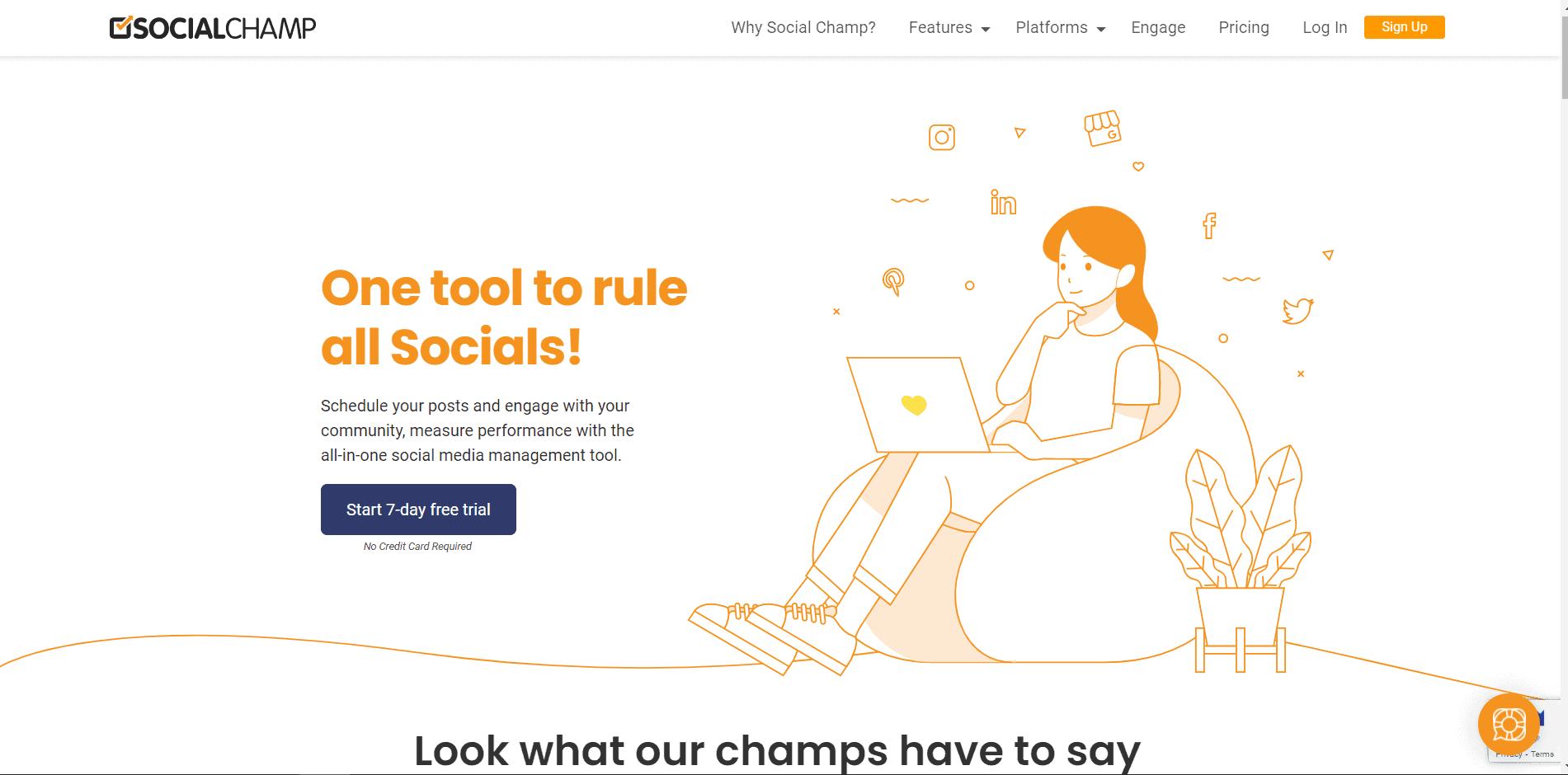 social champ - SOCIAL MEDIA TOOLS FOR ECOMMERCE STORE