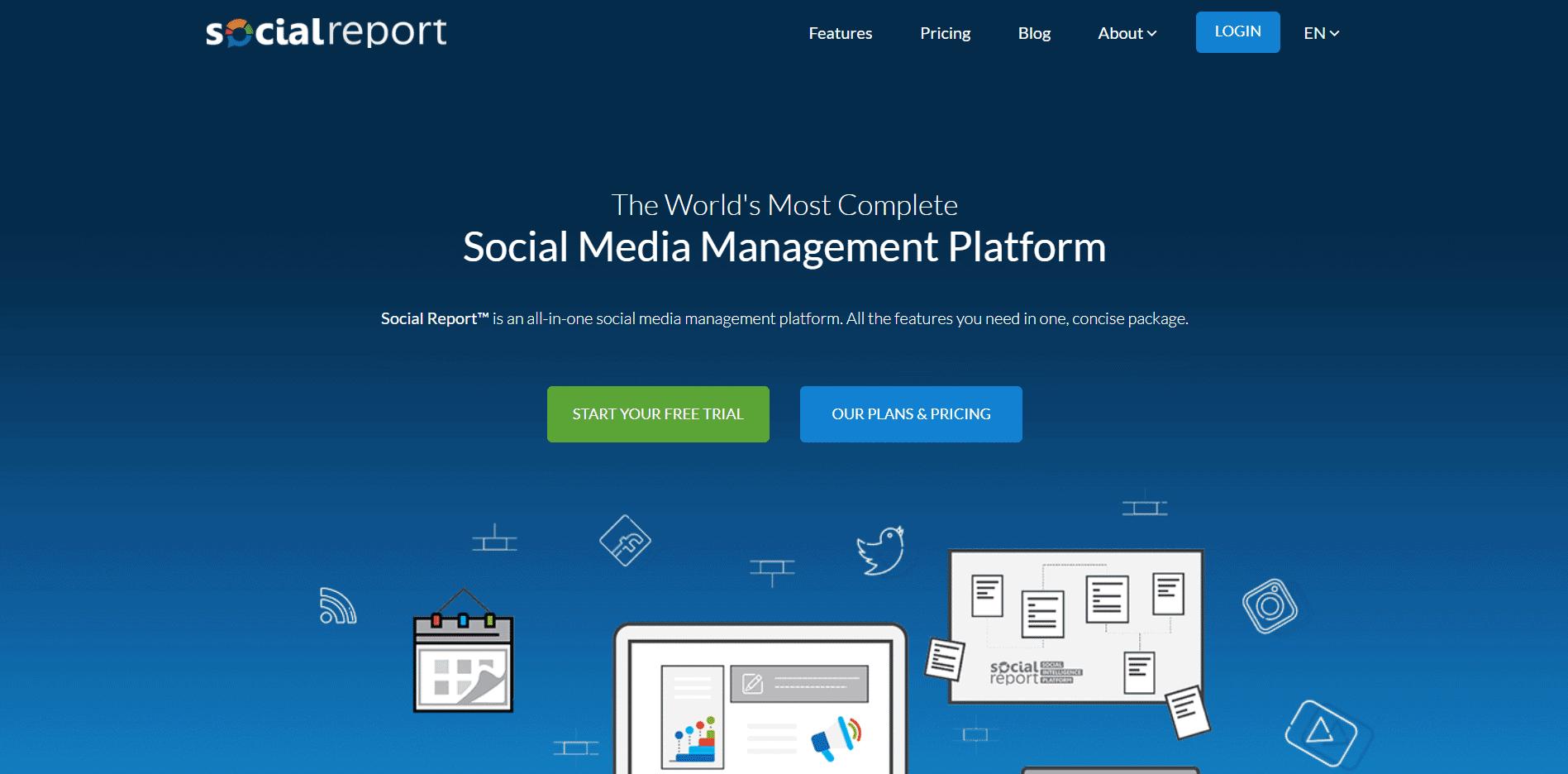 social report - SOCIAL MEDIA TOOLS FOR ECOMMERCE STORE