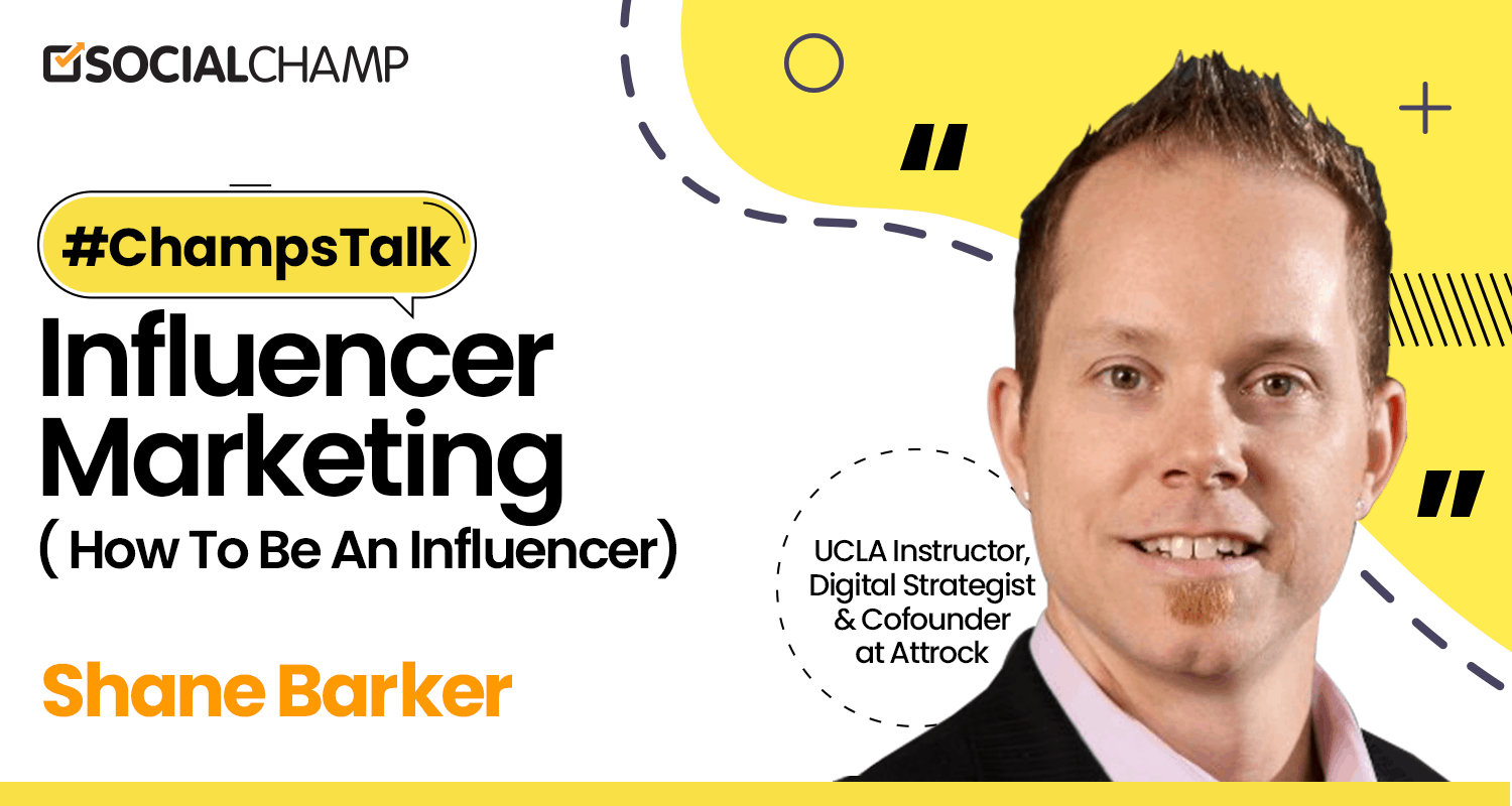 A Twitter Chat Session with Shane Barker on Influencer Marketing